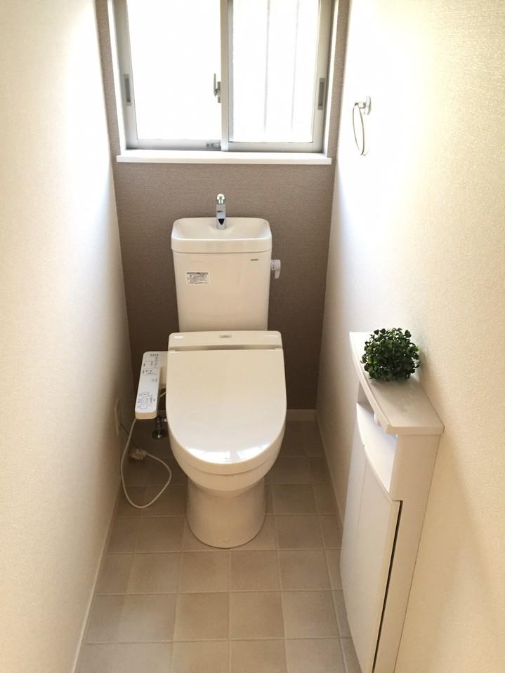 ▼温水洗浄機能付!お2階にもございます◎