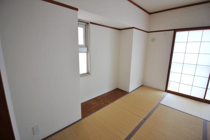 和室が2部屋ある間取りです。来客用にも利用できそうですね。