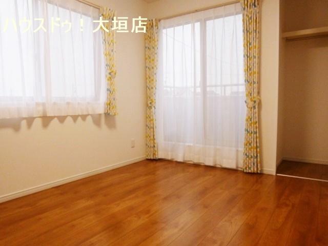 全居室南向き。日当たり良好のお家です。