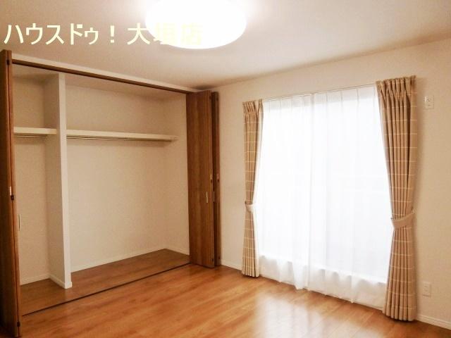 2階洋室はすべて6帖以上。ゆったりとお過ごし頂けます。