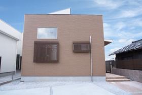 【外観写真】 4LDK・オール電化の新築戸建・南西向き・土地約55坪・駐車2台可