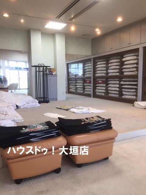 じゅうたん敷きで高級感のある空間です。