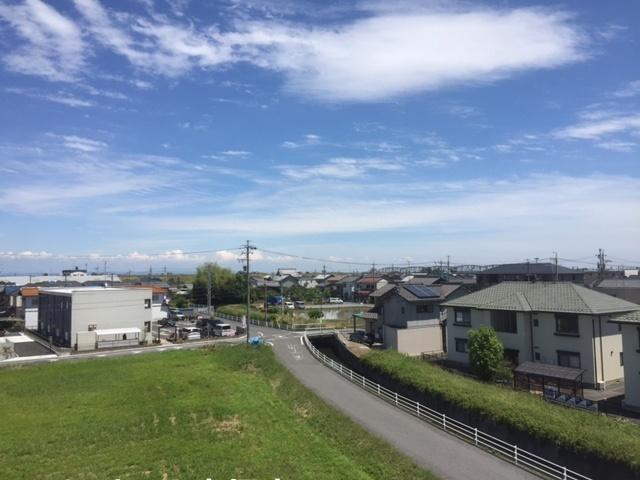 屋上からの景色も気持ち良く見渡せます。