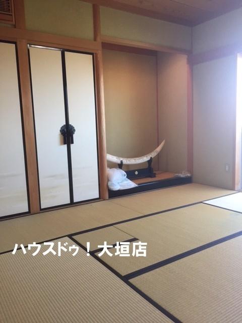 和室があるので、お布団でお休みもできますね。