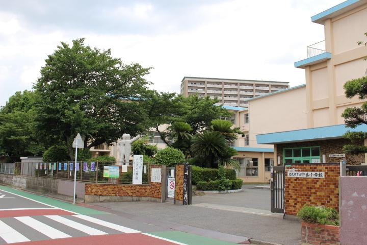 中島小学校 大正11年創立 学校教育目標は体・徳・知 調和のとれた心身ともに健康な子どもの育成。 中学校は白銀中学校区。