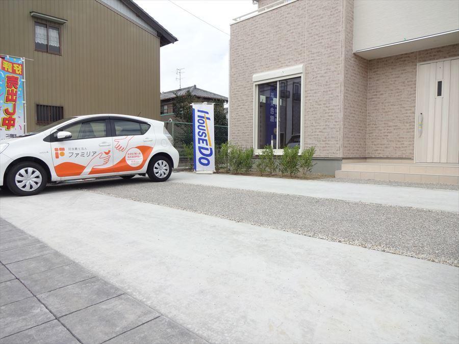 3台駐車可能となっているので、お車が増えても安心ですね!