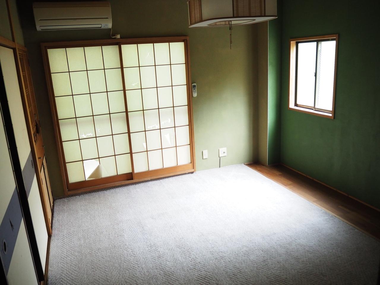 2階和室です。