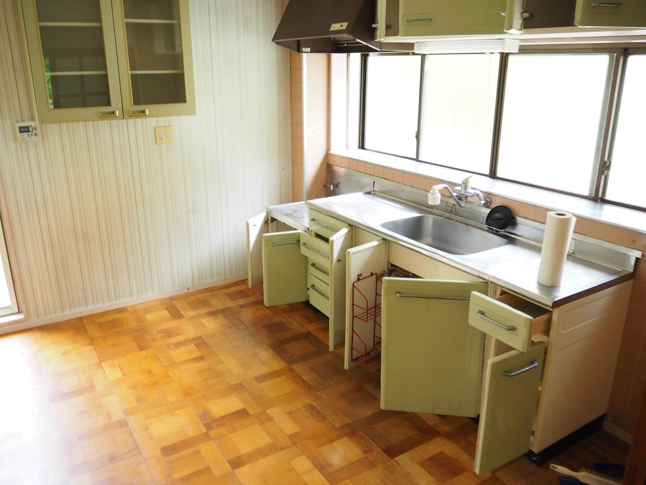 2階キッチンです。