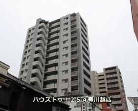 【外観写真】 15階立ての最上階!しかも川越駅、本川越駅、川越市駅の3駅利用可能です!