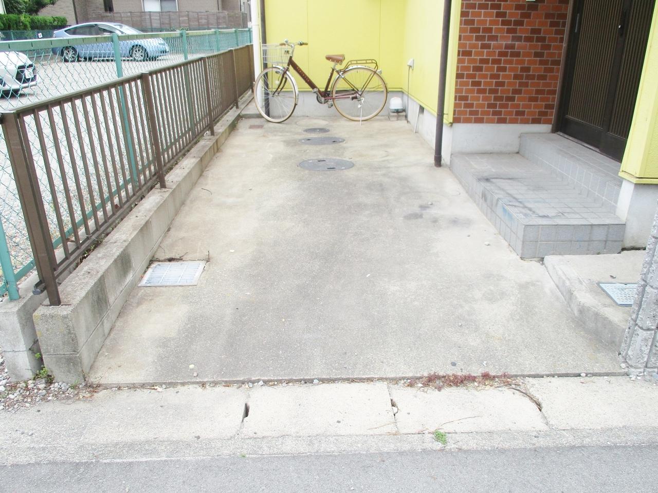 1台駐車可能です。