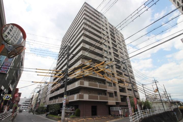 【外観写真】 ペット飼育可(規約有)3SLDK・15階建て6階・南西向き3面バルコニー・JR瀬田駅から徒歩2分の立地!