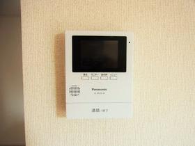 TVモニター付きインターホン *同社施工例