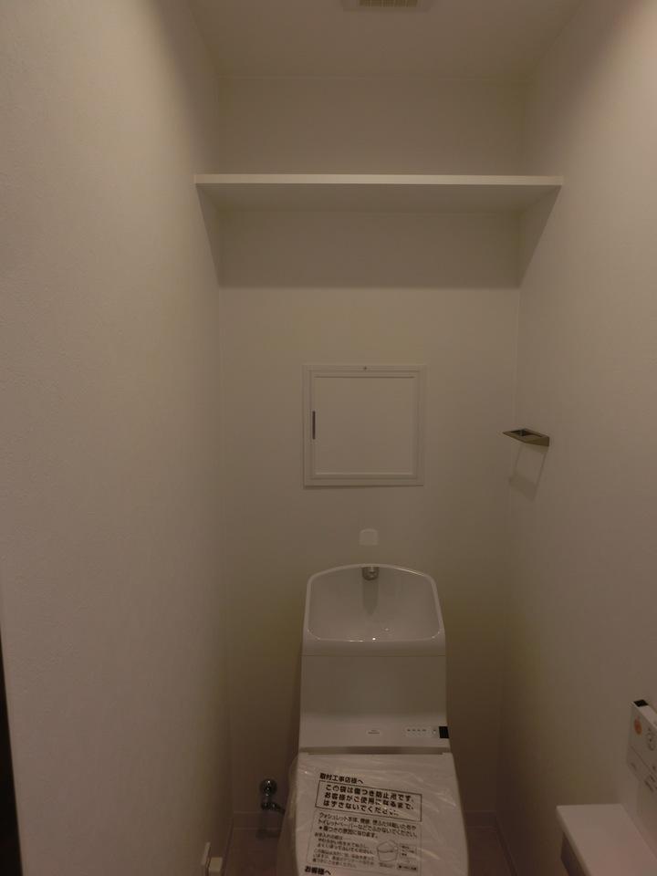 トイレも窮屈感はございません(^^)