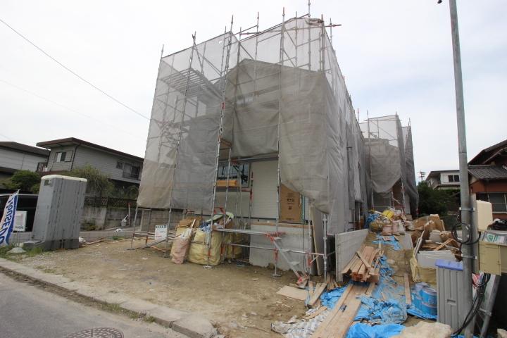 工事工程 足場あり 9月24日撮影しました。