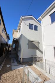 【外観写真】  つつじが丘 新築戸建て 3号棟 4LDK 駐車スペース  2台分 完成しました。