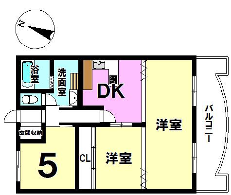 【間取り】 ■3DK!室内大変丁寧にお使いになられております◎◎