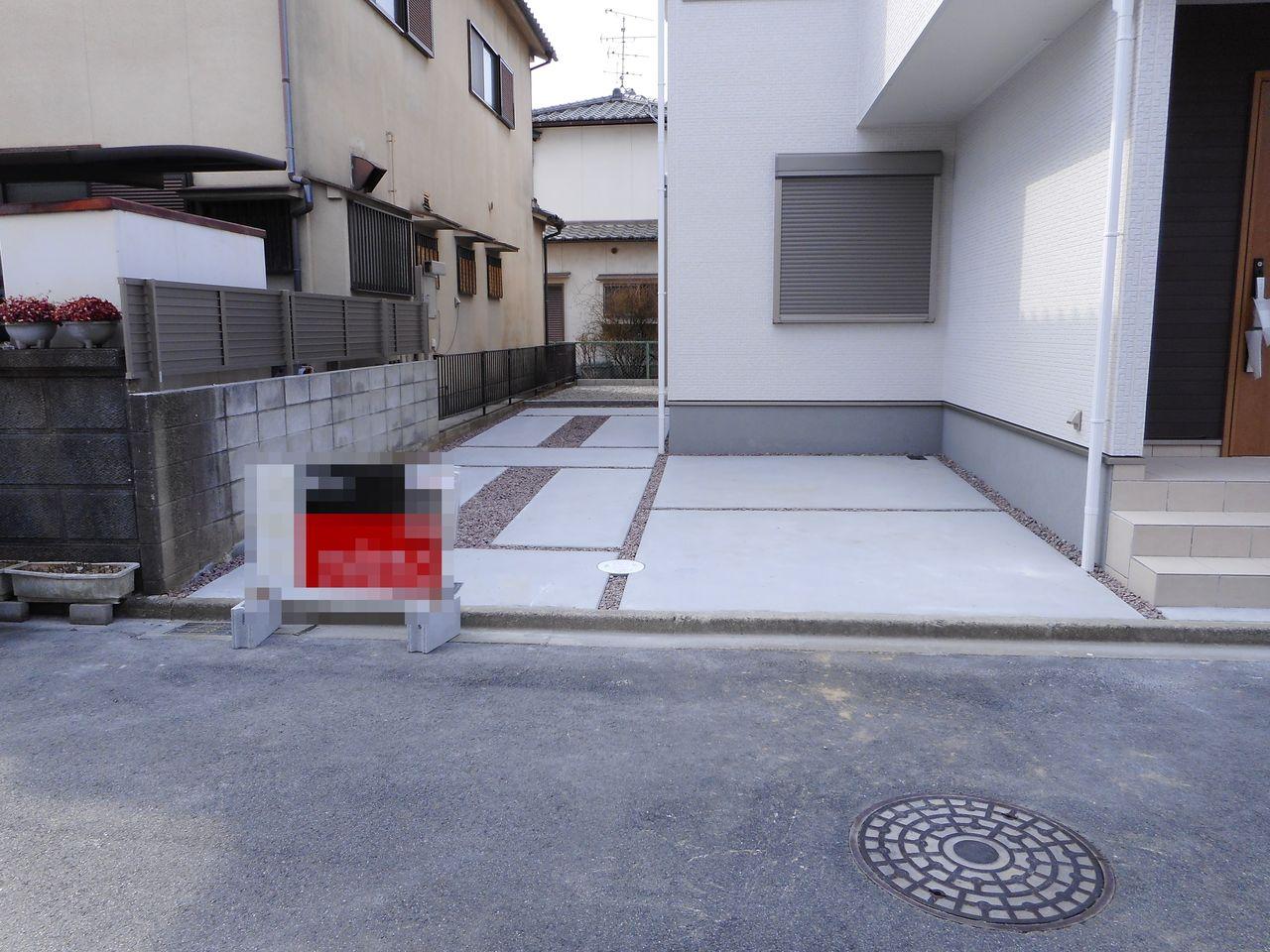 駐車スペースは3台分を確保。 来客時も安心ですね。
