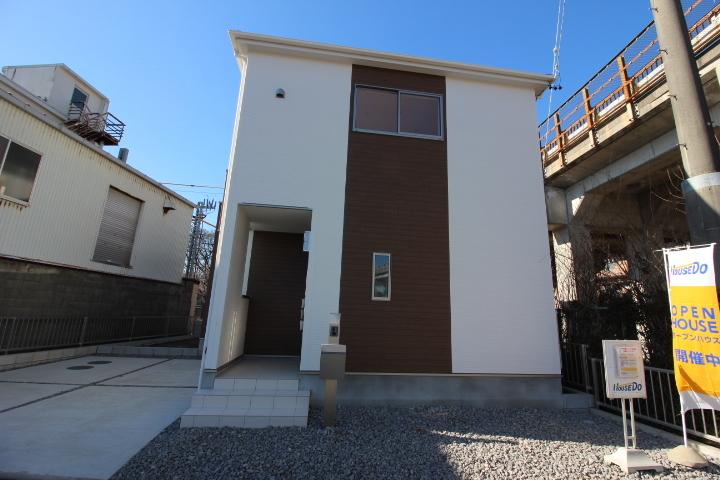 【外観写真】 常滑市大野町2丁目 新築戸建て 土地面積:41.04坪。