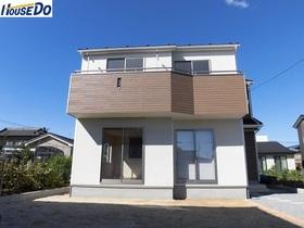 【外観写真】 久喜市 鷲宮 新築戸建です。 2017.9.18撮影 素敵なお家が出来上がりました。是非一度ご覧ください。