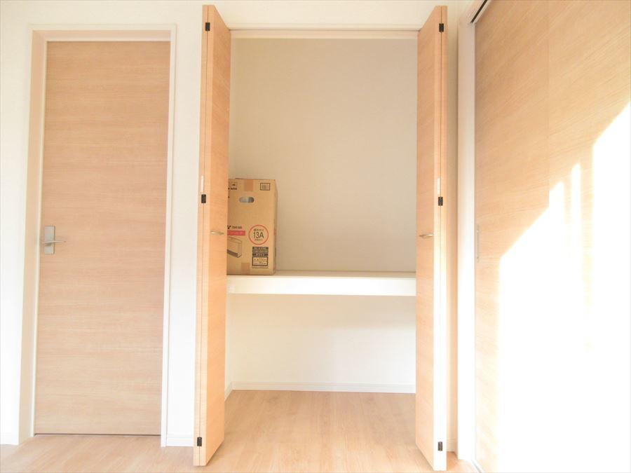 全居室収納スペースがあり、物が多くても安心!お部屋をすっきりとお使いいただけます◎