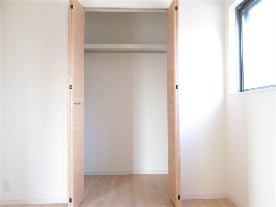 全居室十分な収納スペースでメリハリのあるお家に◎