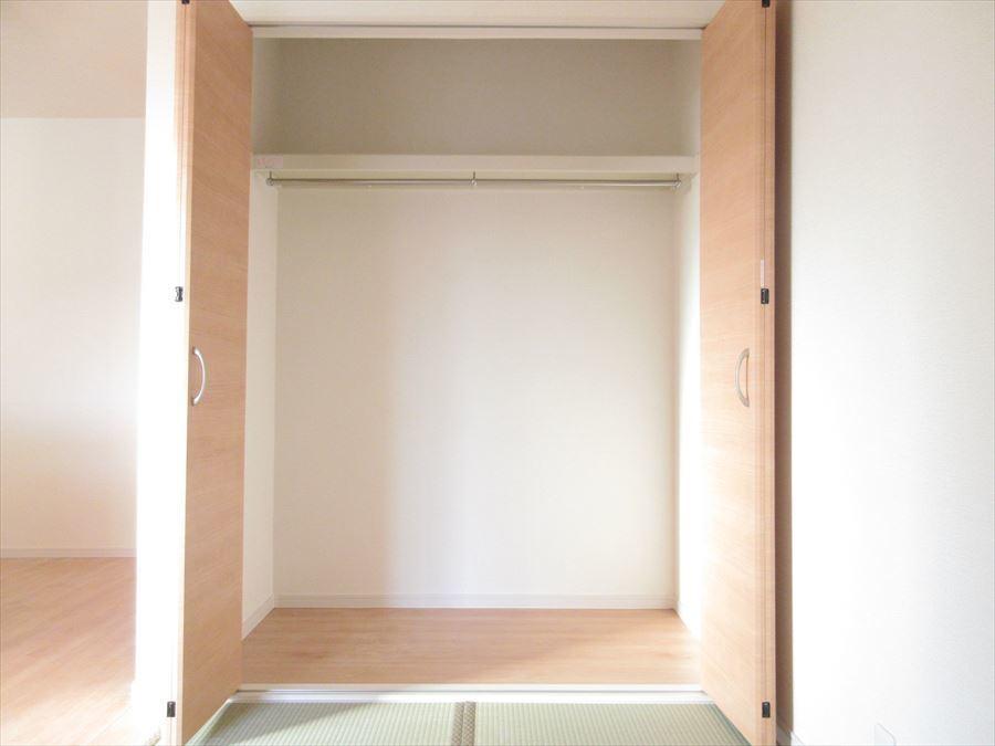 全室収納スペースありでスッキリとしたお家に◎清潔感を保てます!