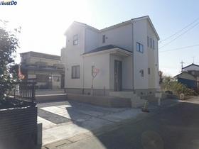 【外観写真】 2017.11.9撮影 久喜市菖蒲町下栢間の新築戸建です。カースペース2台可能です。