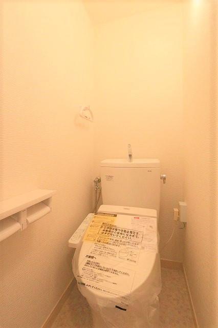トイレが新しいと気分が良いですよね