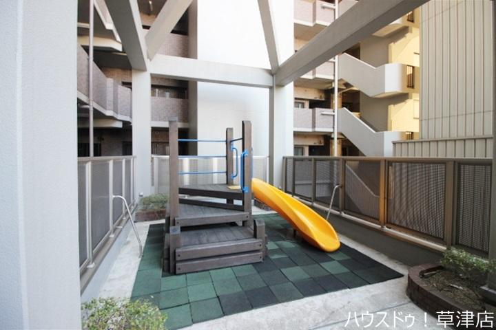 2階部分に遊びスペースがあります♪