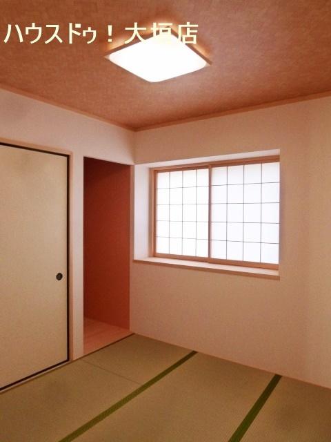 独立型の和室。客間にいかがでしょうか。