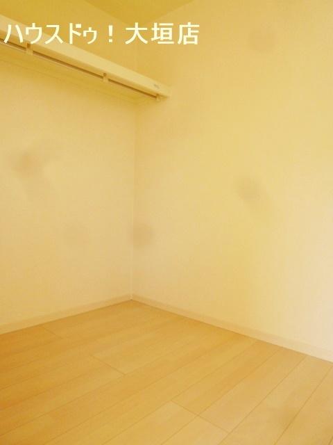 2階全居室にウォークインクローゼット付き。