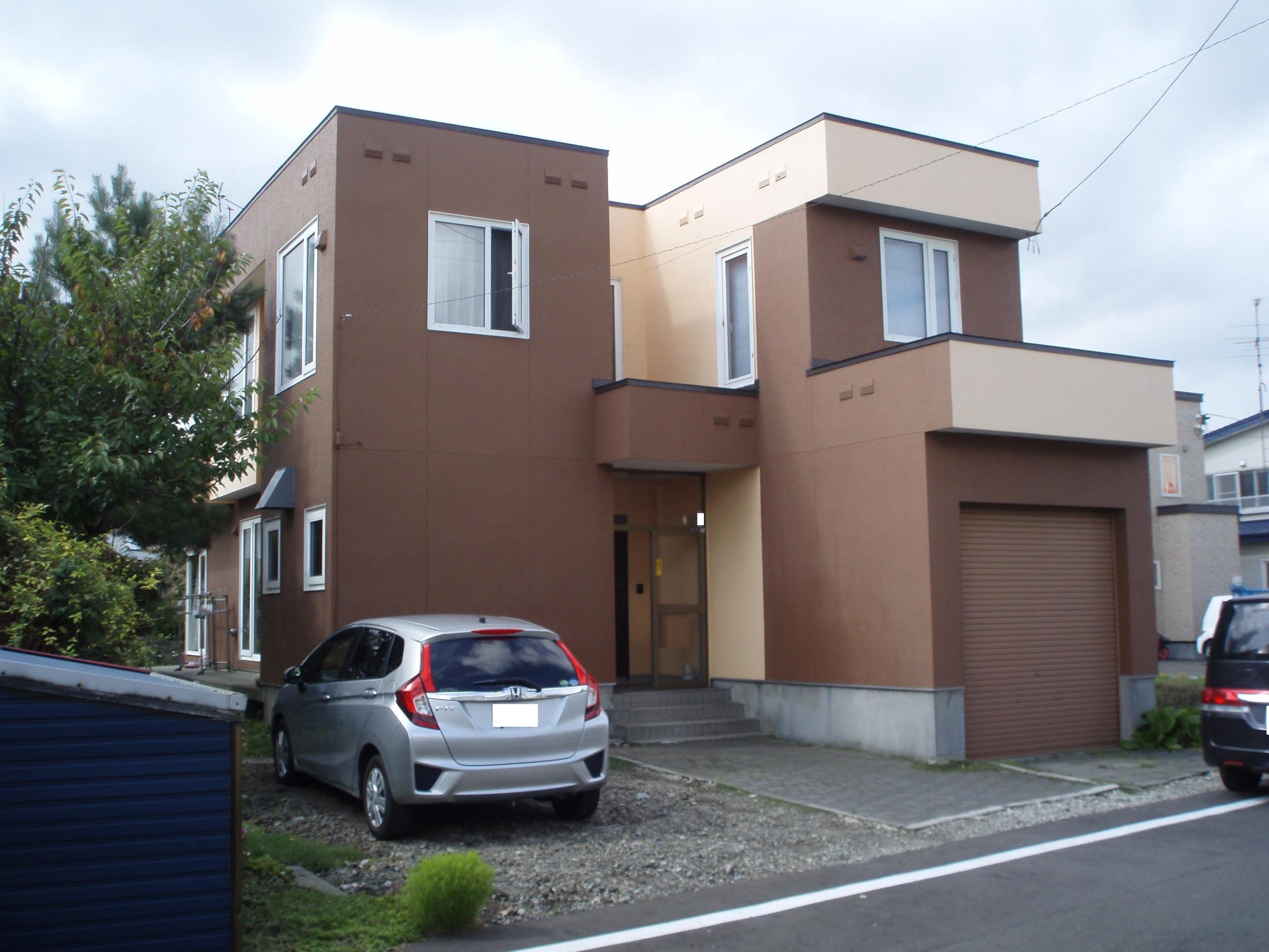 【外観写真】 江別市野幌松並町の、中古戸建です