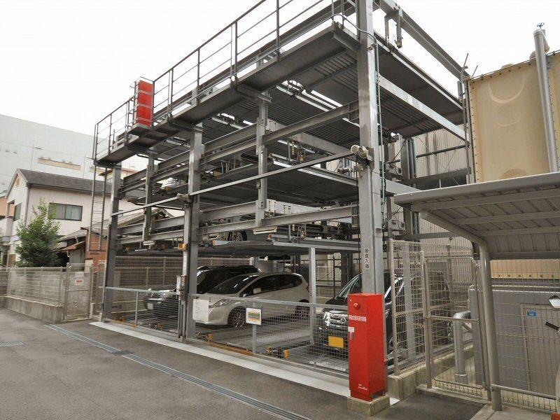 機械式駐車場部分
