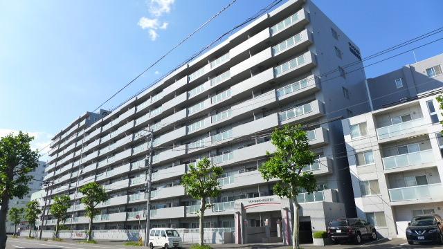 【外観写真】 クリーンリバー桑園駅前II 札幌市中央区北十二条西17丁目の中古マンションです。