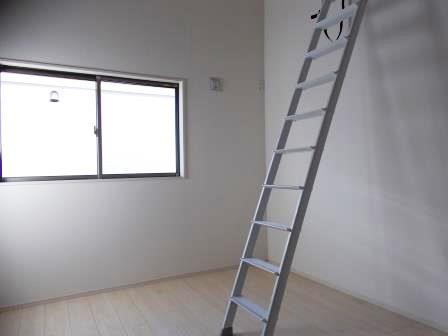 6帖洋室☆ロフト付き部屋