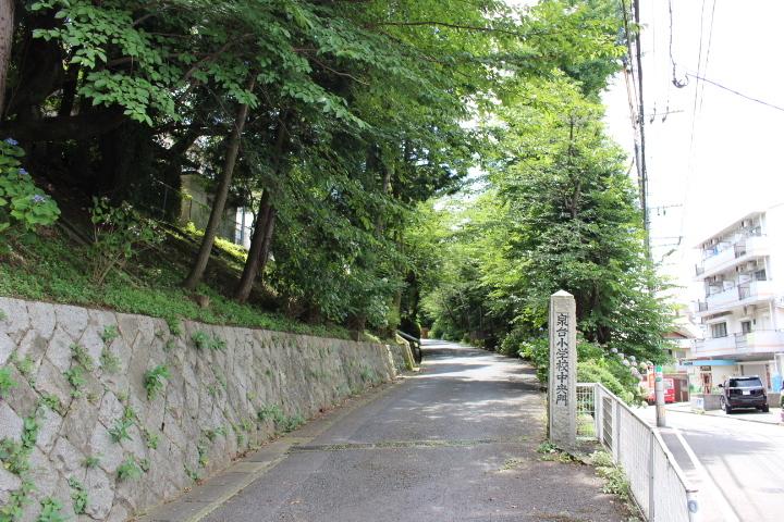 泉台小学校 昭和31年創立 中学校は篠崎中学校区