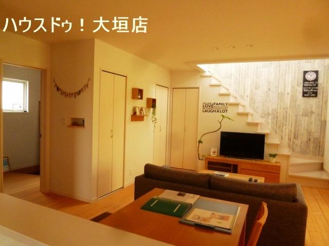 リビングイン階段や隣接する和室でお料理しながら家族の気配を感じられる間取りです。
