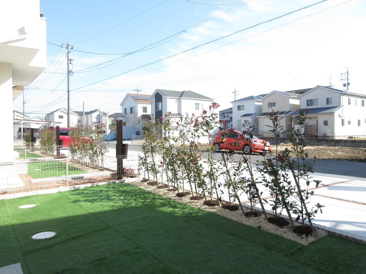あると嬉しいお庭付き♪お庭があるだけでお家が広々と見えます◆