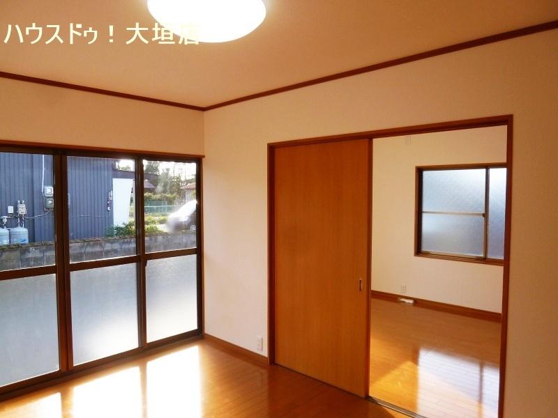 1階には洋室が4室。家族の成長に合わせた間取りが可能です。