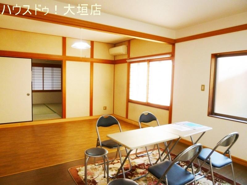 3室が繋がると22帖の広々空間に。