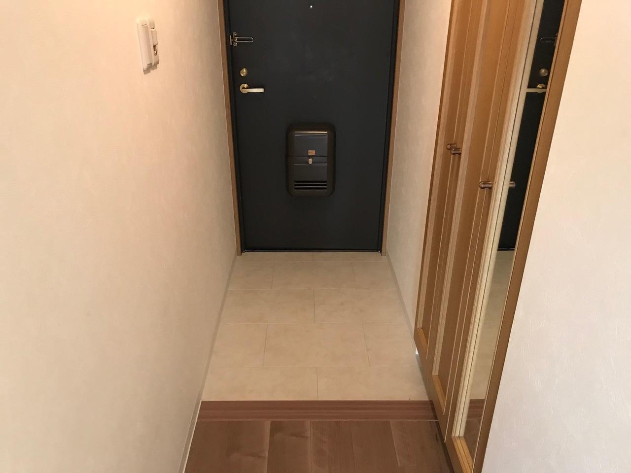 散らかりがちな玄関もスッキリ収納スペース付き