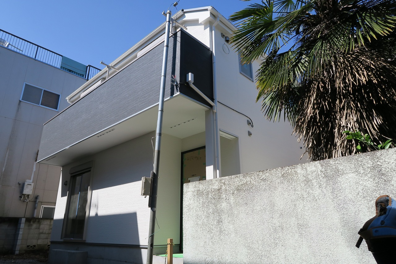 【外観写真】 江戸川区南小岩4丁目の新築戸建物件です。