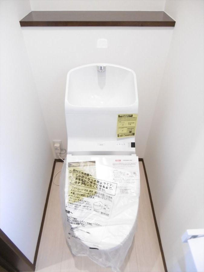 洗浄便座で使用後はいつでもスッキリします!