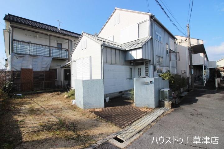 【外観写真】 角地・4LDK・土地約46.81坪・JR草津駅まで徒歩10分! すぐにご内覧頂けます!