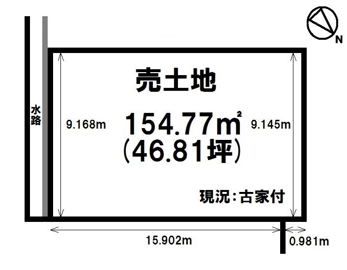 【区画図】 建築条件なし・お好きなハウスメーカーで建築可能です・エイスクエアまで徒歩5分(約370m)