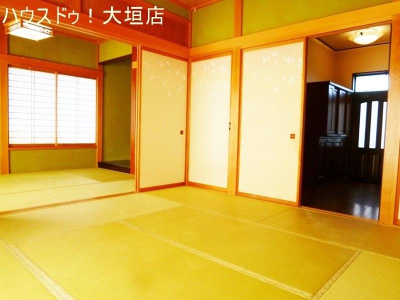 2間続きの和室。お寛ぎのスペースとしていかがでしょうか。