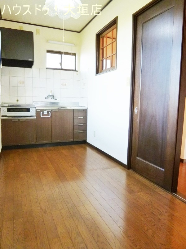 2階のキッチンスペース。