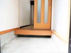 玄関から部屋に入る手前に引き戸があるのでプライベートも守れます!