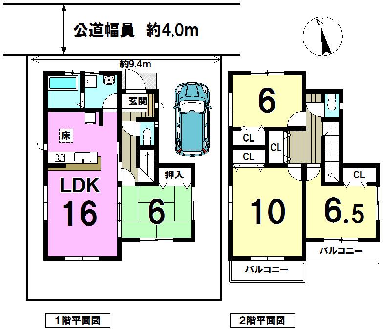 【間取り】 どの部屋をどう使おう、インテリアはどうしよう、想像するだけでわくわくしちゃいますね。 LDKが広く窓も多いので開放的。