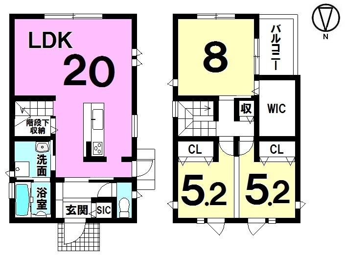【間取り】 ・3LDK ・駐車3台可能